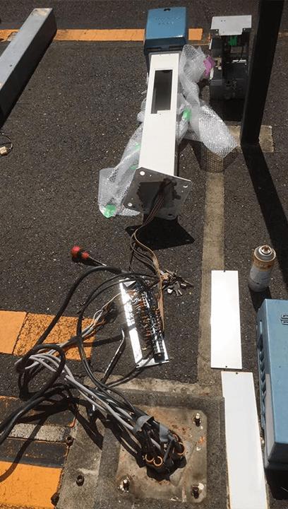駐車場機器メンテナンス(日本信号製)